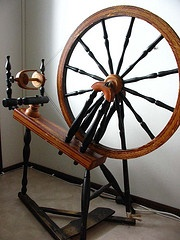 'Kiikkalainen', traditional Finnish spinning wheel