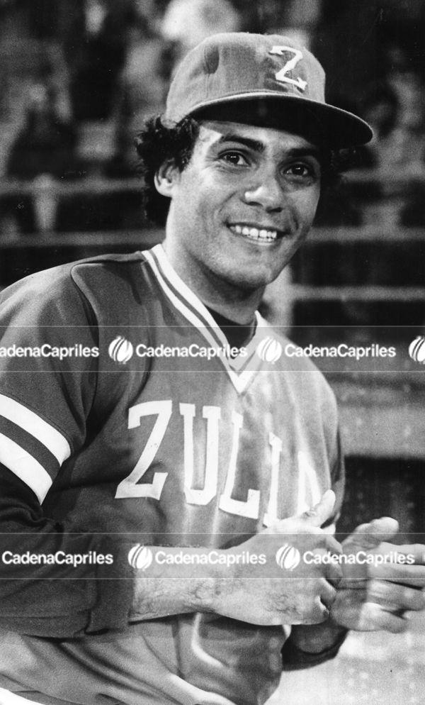 #LVBP | Jesús Marcano Trillo con el uniforme del equipo Águilas del Zulia. Foto: Archivo Fotográfico/Cadena Capriles
