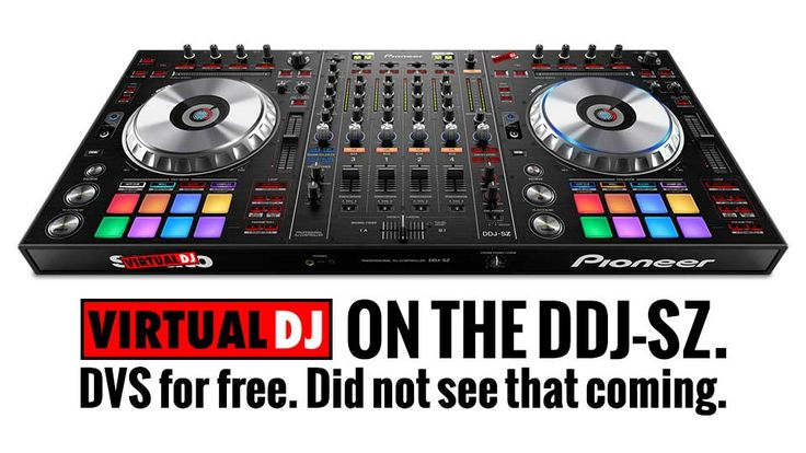 Pioneer DDJ-SZ and VirtualDJ 8 — officially friends - http://djworx.com/pioneer-ddj-sz-virtualdj-8-officially-friends/