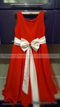 La forma en que las prendas de vestir chicas - costura y detalle