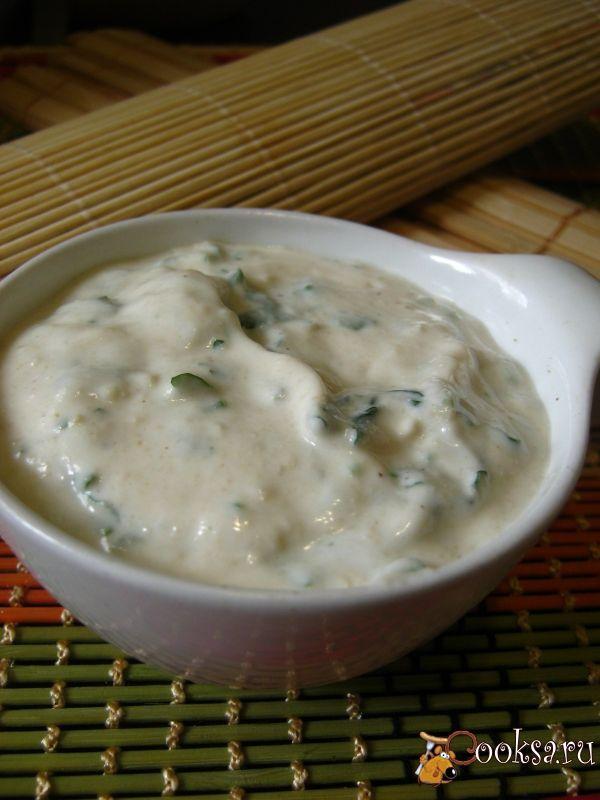 йогуртовый соус с тхиной