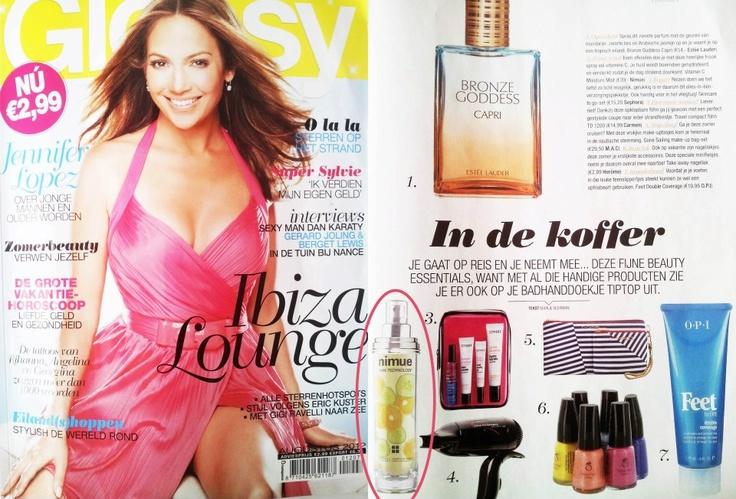 Glossy AUGUSTUS 2012 - Vitamin C Moisture Mist (Netherlands)