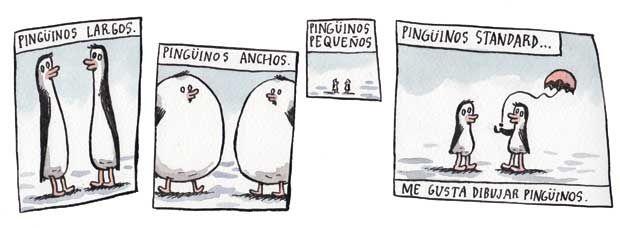 #liniers #macanudo Amo los pingüinos jajaja