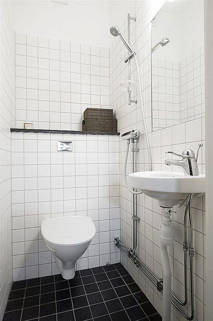 Small white bathroom toilet show cute inspiration for Bathrooms by design