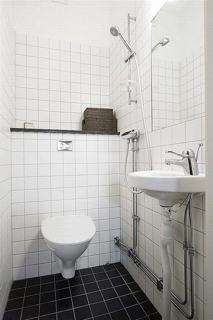 Bathroom Urinal: Interesting White Tile Design Ideas For Shower Room