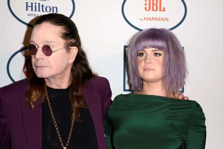 Kelly Osbourn with Ozzy Osbourne - Dan Steinberg/Invision/AP