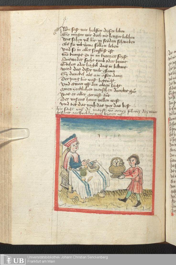 204 [97v] - Ms. germ. qu. 6 - Der Renner - Page - Mittelalterliche Handschriften - Digitale Sammlungen Schwaben, [1446; um 1450]