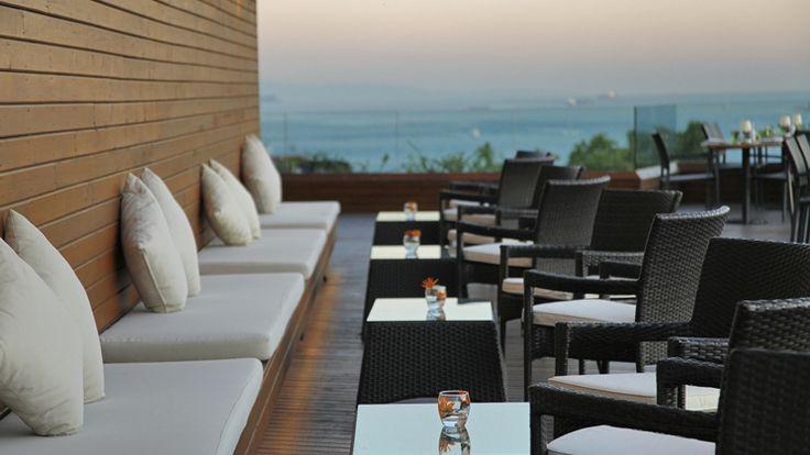 Conrad Istanbul Bosphorus Hotel, Turkey - Meze Restaurant Seating