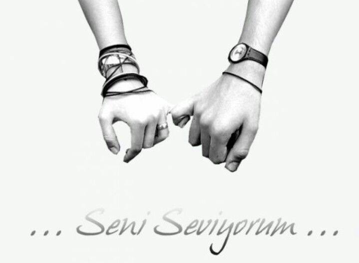 Картинка на азербайджанском я тебя люблю, под