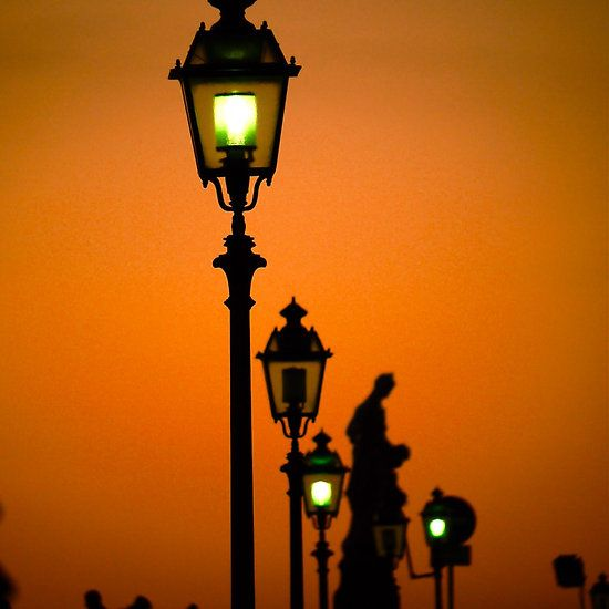Lit Up Sunset - Florence, Italy
