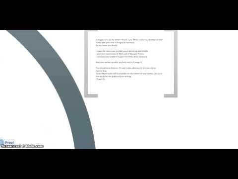 Cambridge iGCSE Directed Writing Modelling Letter - YouTube