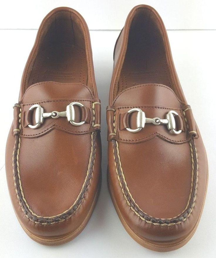 Allen Edmonds Men Loafer shoes Concord Ave Brown Calfskin Loafer Sz 11B & 10B   #AllenEdmonds #LoafersSlipOns #Formal