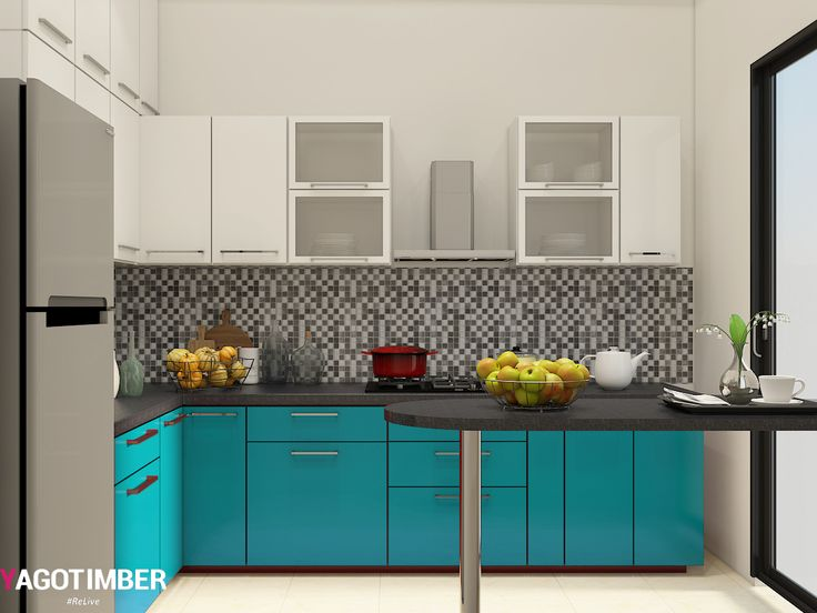 Delicieux Yagotimber Is The Best Modular Kitchen Designers In Delhi NCR. Get  Customized Furniture, Accessories And Cabinets Online For Modular Kitchen  Interior Design ...