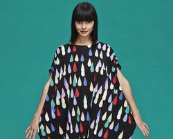 Marimekko AW13/14: Autumnal Weather Patterns and Splashes of Colour! Click to see more: www.fashionflashfinland.com !