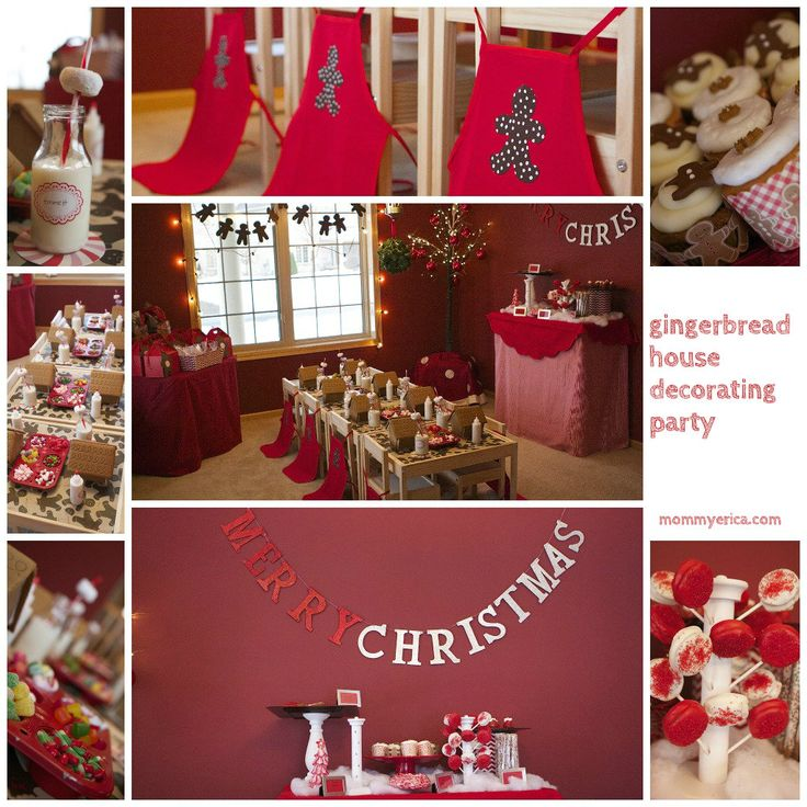 Gingerbread House Decorating Party Ideas Gingerbread