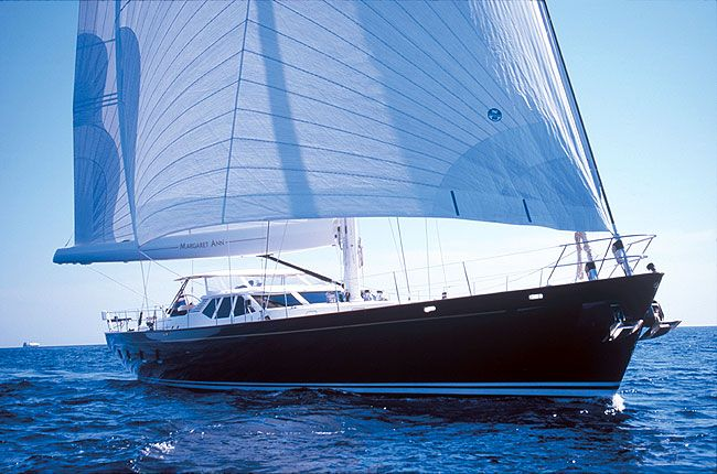 Sailboats In The Caribbean: Sailing Yacht Margaret Ann