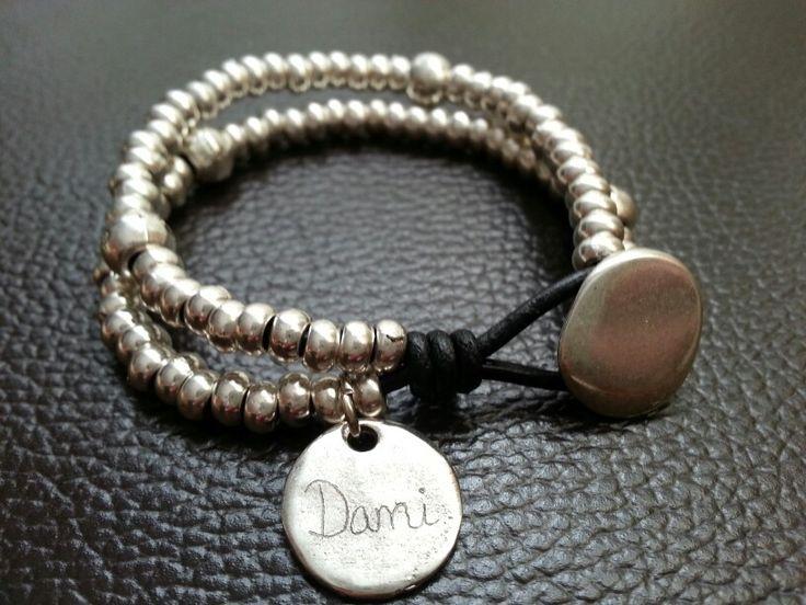 Pulsera personalizada para Dami #pulsera #moda #bisuteria