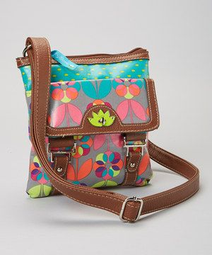 Another great find on #zulily! Lily Bloom Floral Dot Crossbody Bag by Lily Bloom #zulilyfinds