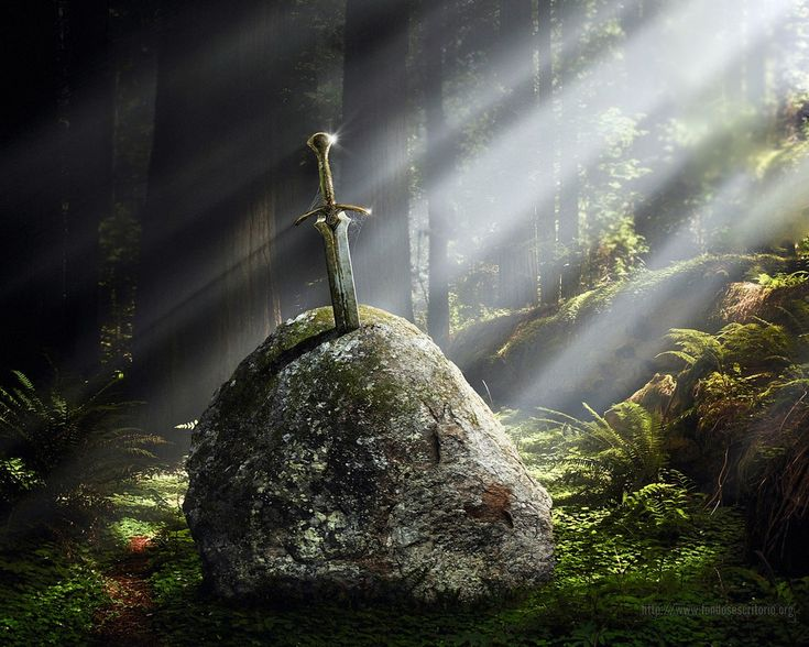 Who so Pulleth Out This Sword of this Stone and Anvil, is Rightwise King Born of England.
