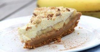 Рецепт восхитительного бананового торта «Баноффи». Настоящее сокровище для сладкоежек.