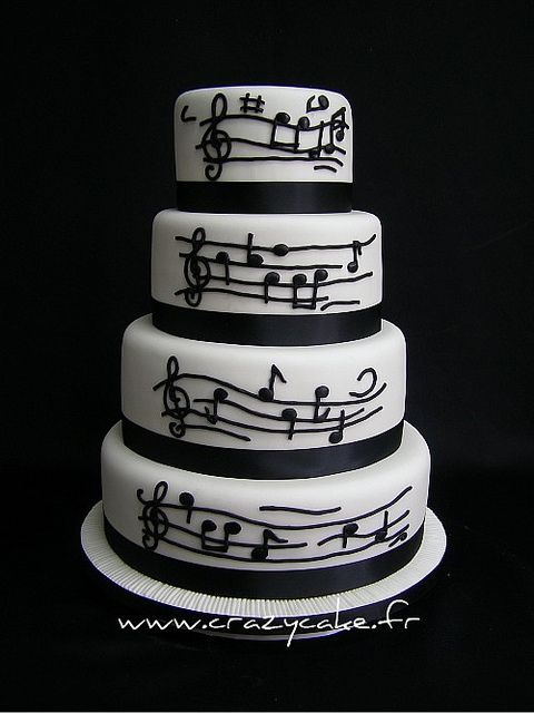 Music themed wedding cake this will be helpful inspiration for our wedding