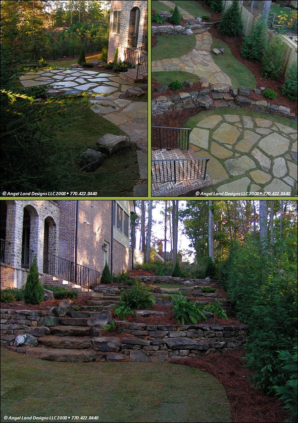 1000 images about sloped yard ideas on pinterest for Sloped yard solutions