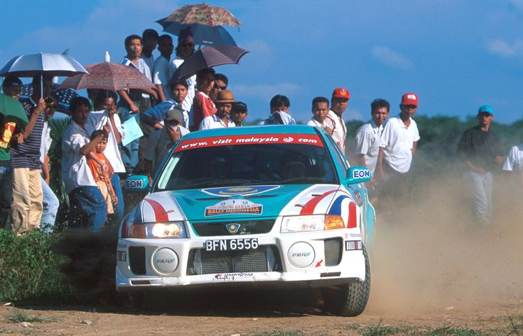 2000 Rally of Indonesia and Karamjit Singh in the Proton PERT.