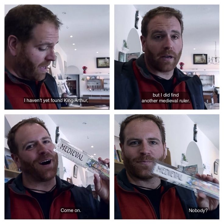 Josh Gates, The Quest for King Authur, Expedition Unknown (screen cap)