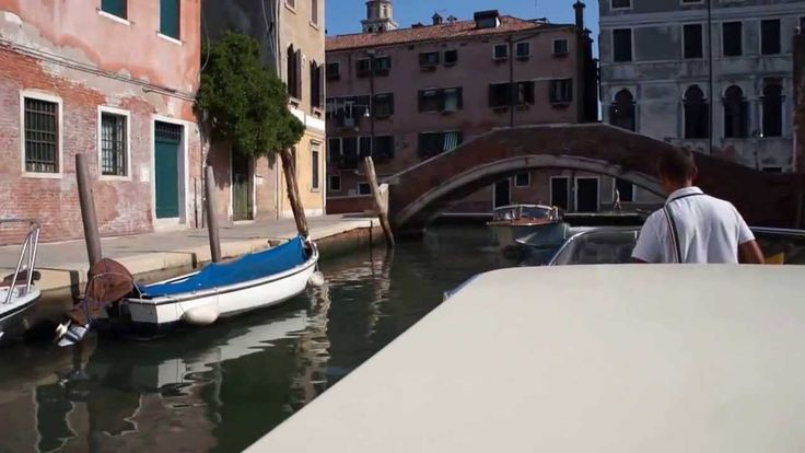 Venice Water Taxi to the Hilton Molino Stucky
