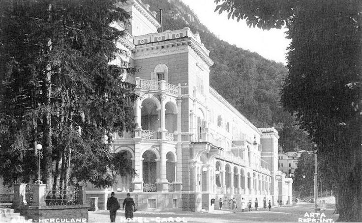 Baile Herculane - Hotel Carol - interbelica