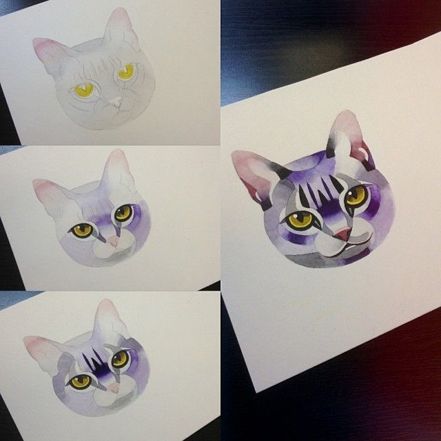 Would love to have both my cats done like this! One on each arm. Sasha Unisex is a beast