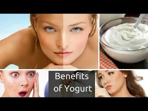 yogurt for skin and hair