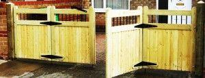 51 Best Solid Wood Fences Images On Pinterest