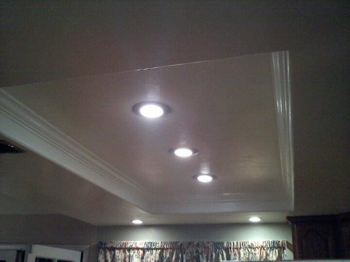 Kitchen lighting redo