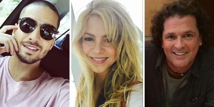 Shakira, Maluma y Carlos Vives lanzan canción juntos