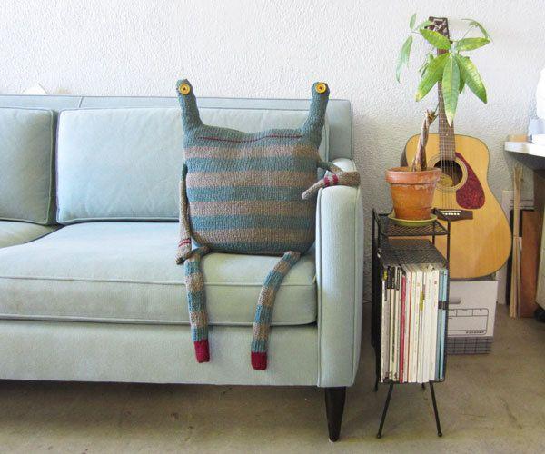 Beast Pillow - RESERVED for KAREN ZURN