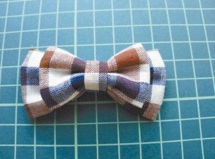 Como hacer una corbata de lazo para niños paso a paso