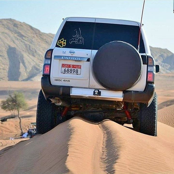 Desert Nissan Patrol Gr Y61