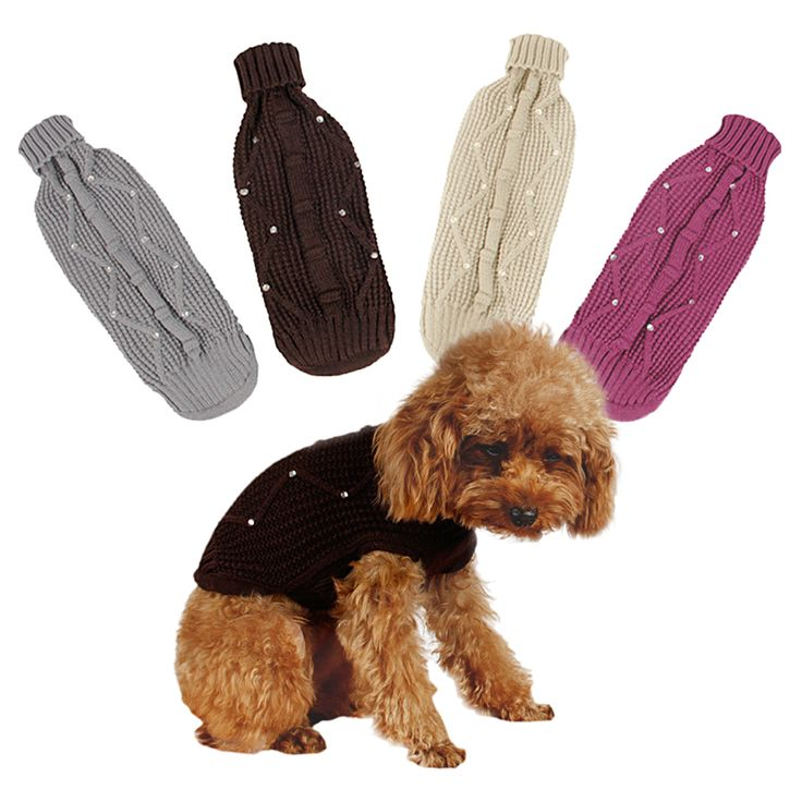 Cheap dog sweaters xl, Buy Quality dog sweater knit pattern directly from China dog tag usb drive Suppliers: Hot Winter Warm Thick For Large Small Dog Pet Clothes Padded Hoodie Jumpsuit Pants Apparel XS-5XL Hot New Arrival  Free