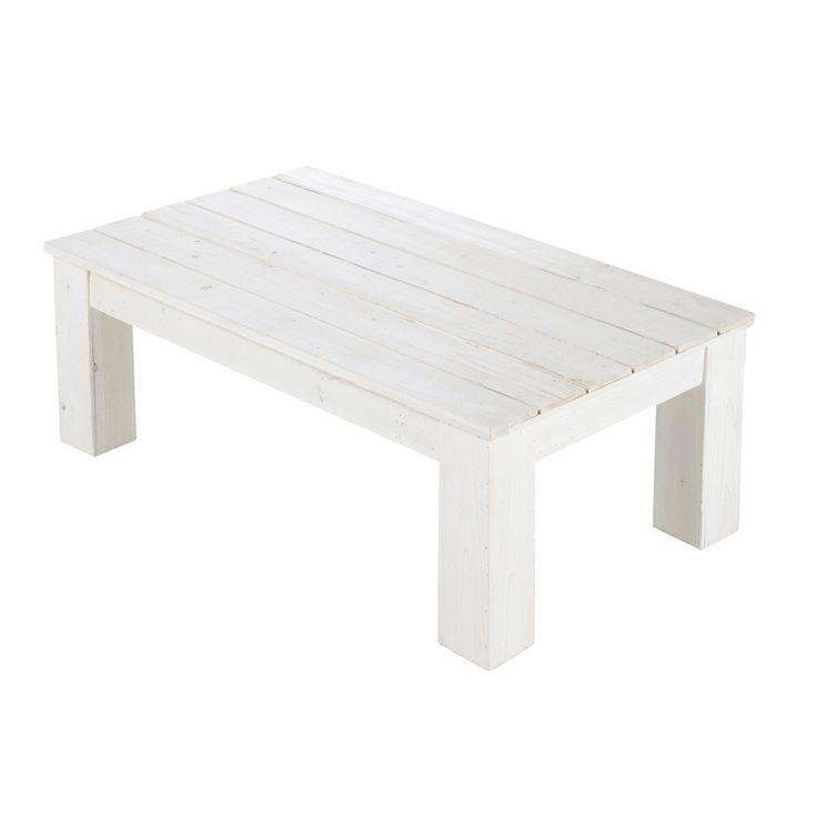Table Basse Blanche Maison Du Monde