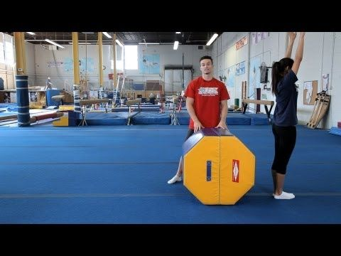 Back Walkover Drills | Gymnastics Lessons - YouTube