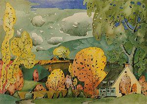 Marc-Aurèle Fortin - Watercolours