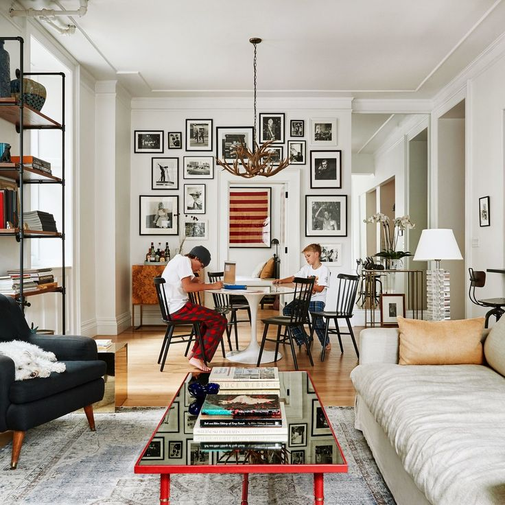 Who Wouldn't Want to Grow Up in This Eclectic New York Apartment?