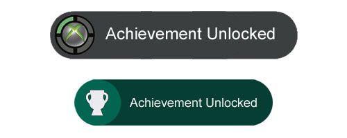 #Xbox 360 Achievement Unlocked #Xbox One Achievement Unlocked Comparisons