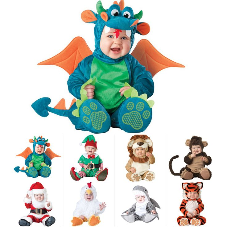 Good Quality New Arrival Baby Boys and Girls Halloween Dinosaur Costume Rompers Kids Clothing Sets Toddler Co-splay Triceratops