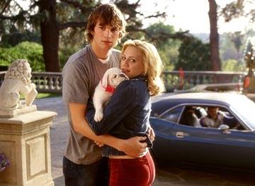 """Brittany Murphy e Ashton Kutcher em RECÉM-CASADOS (Just married). 1-Você nunca vê os dias difícieis numa foto. Mas são eles que nos levam de uma foto feliz a outra"""", 2-""""Se eu quisesse saber como vai ser a minha vida, eu me casaria com o Peter. Mas eu adoro não saber!"""""""