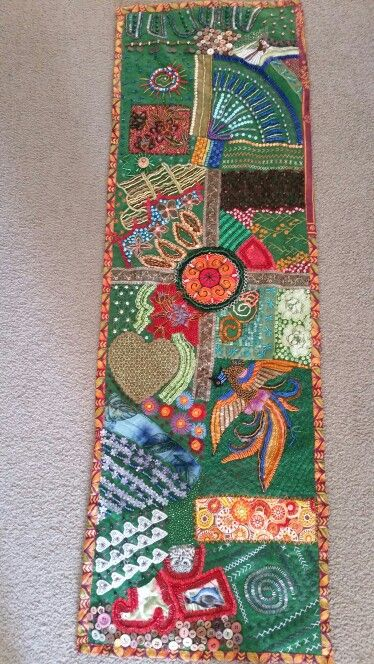 Beaded  wall hanging