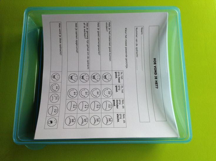 Via dit evaluatieblaadje kunnen ze hun eigen muzische activiteit evalueren. Als leerkracht krijg je belangrijke informatie.