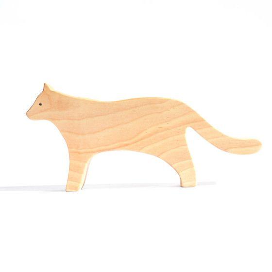 Puma de madera