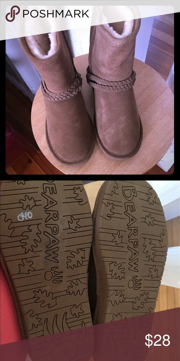 BEAR PAW CAMEL COLOR SIZE 6 never worn boots Brand new never work Bear Paw Emma boots. BearPaw Shoes Winter & Rain Boots